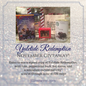 Yuletide Redemption November Giveaway!