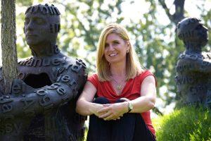 Jill at Toledo Art Museum