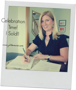 For Writers, Celebration Time! I Sold