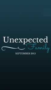 Books Placeholder for Unexpected Family