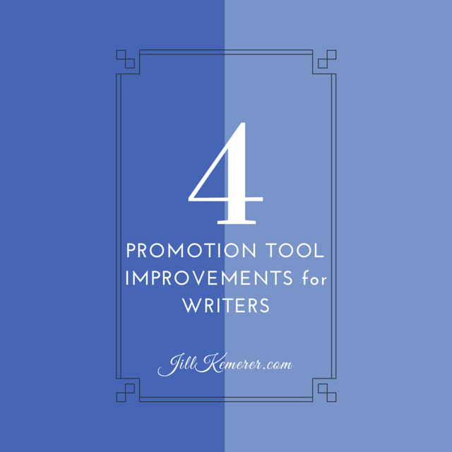 4 Promotion Tool Improvements For Writers