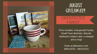 August Gift Package Giveaway For Unexpected Family Starts Tomorrow!