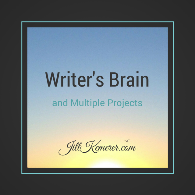 Writer's Brain And Multiple Projects