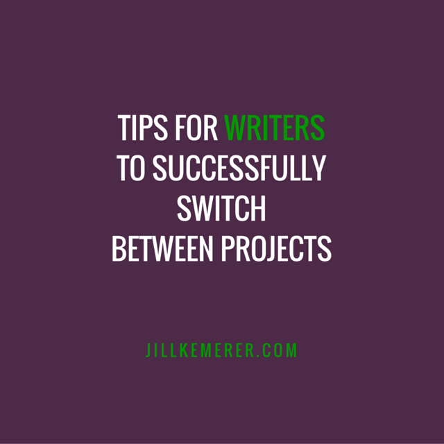 Tips To Successfully Switch Between Projects