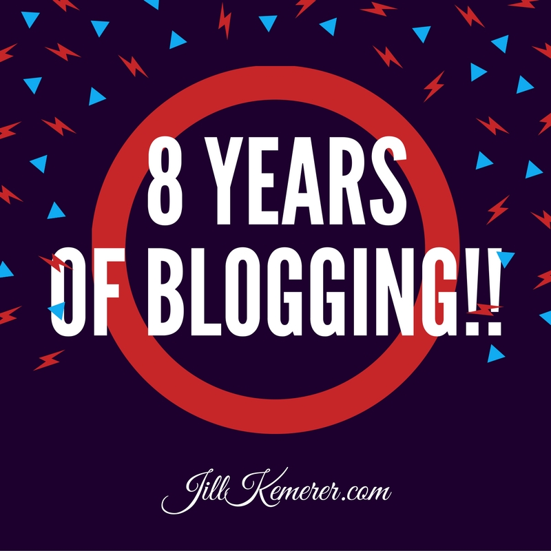 8 Years Of Blogging!
