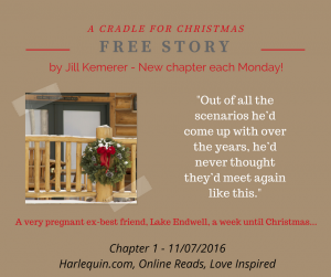 A Cradle for Christmas chapter one