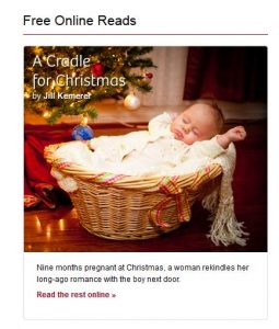 A Cradle for Christmas Graphic