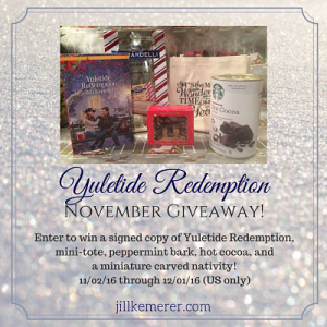 Yuletide Redemption Giveaway