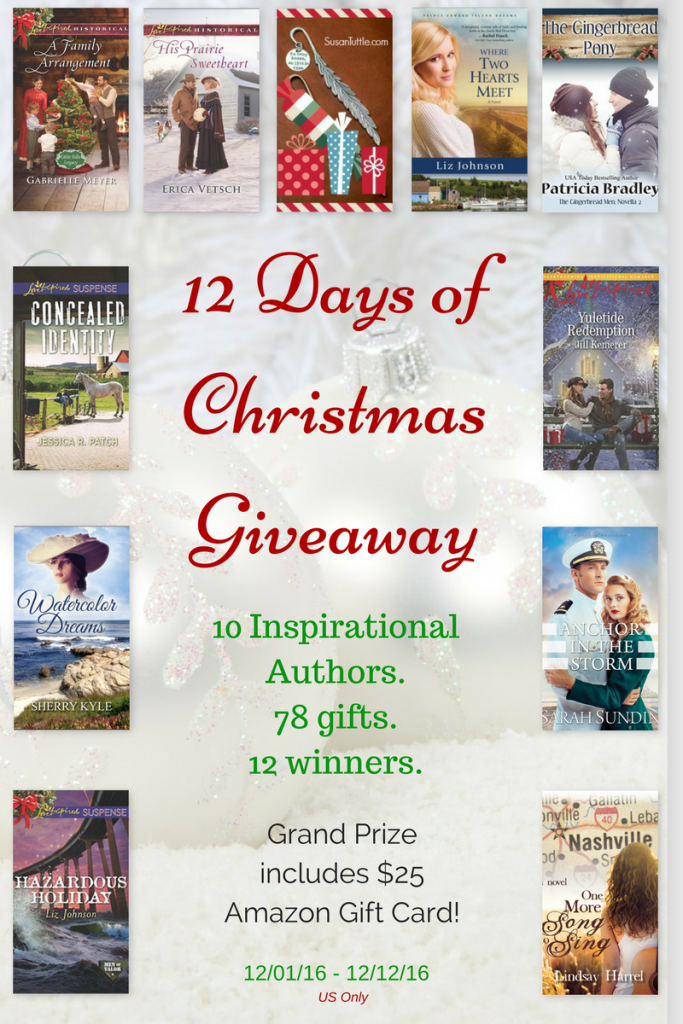 12 Days of Christmas Givewaway!
