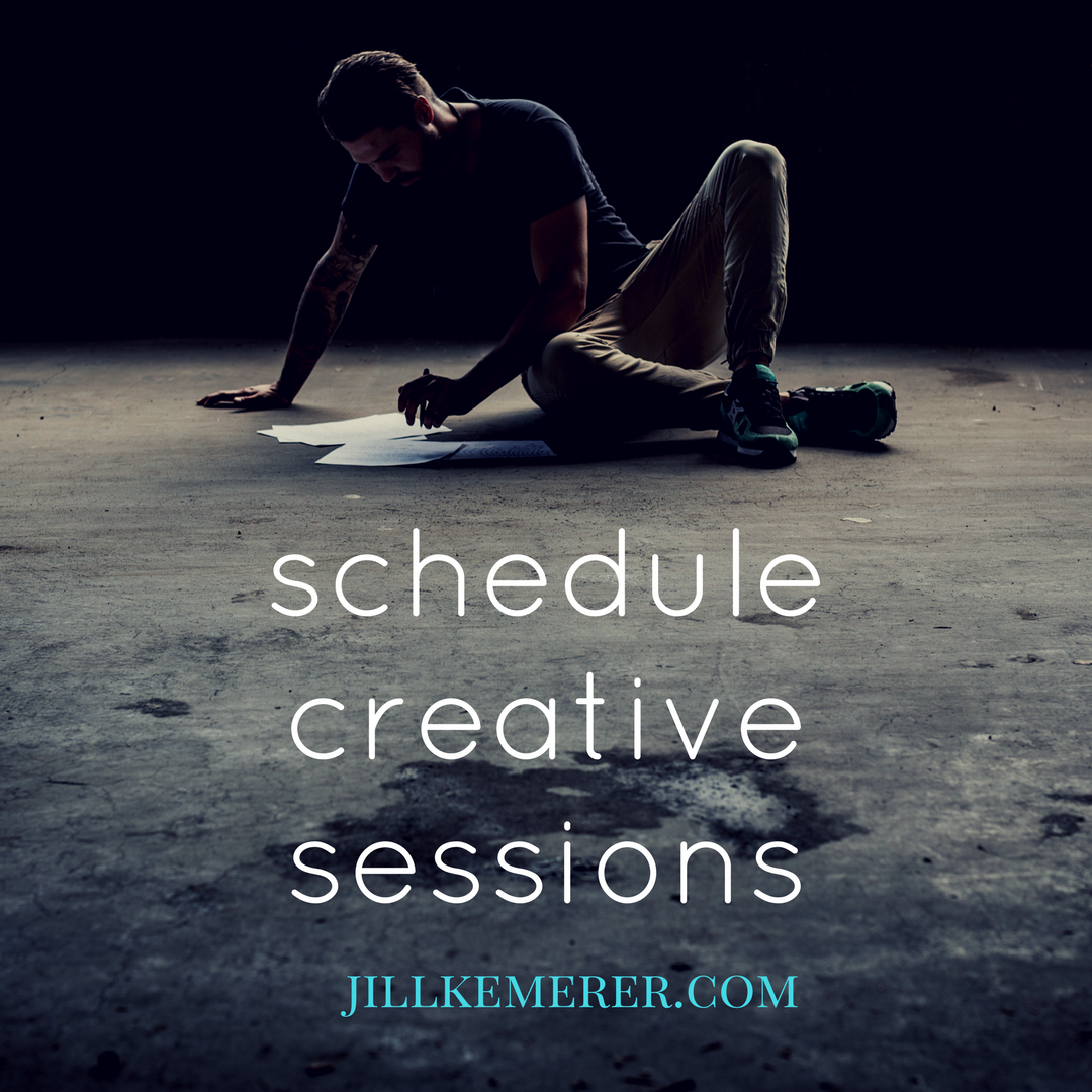 Scheduling Creative Sessions {Writer Wednesday}