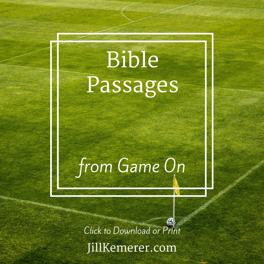 Bible Passages from Game On