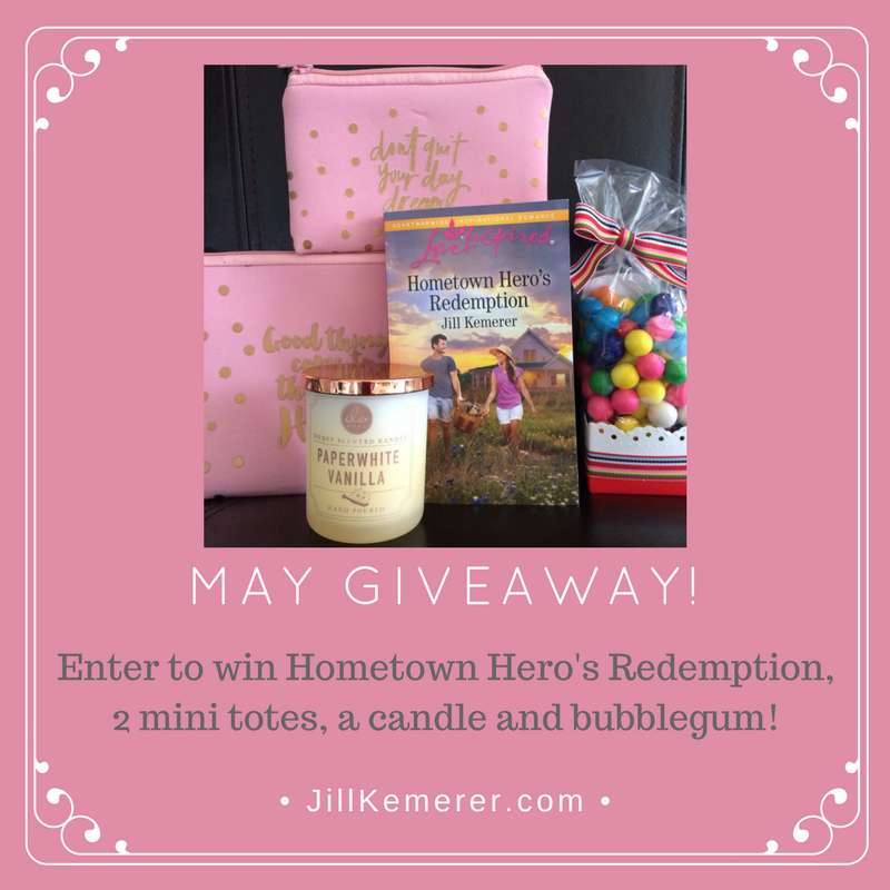 May Giveaway To Celebrate Hometown Hero's Redemption!