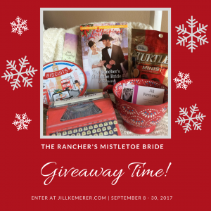 The Rancher's Mistletoe Bride Giveaway