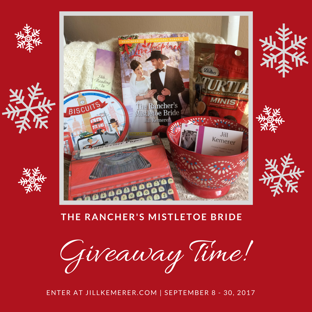 The Rancher's Mistletoe Bride Giveaway!