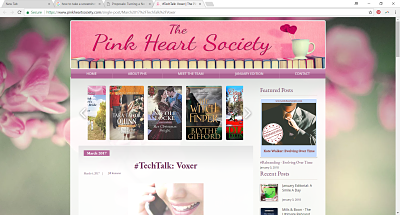 The Pink Heart Society | Tech Talk: Voxer