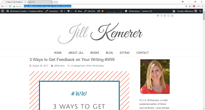 Jill Kemerer | 3 Ways to Get Feedback on Your Writing