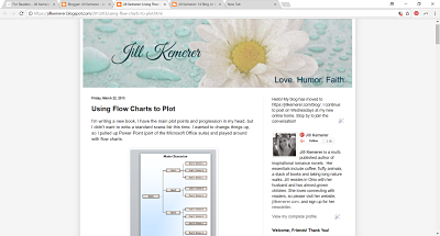 Jill Kemerer | Using Flowcharts to Plot