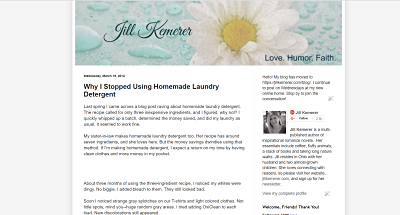 Jill Kemerer | Why I Stopped Using Homemade Laundry Detergent