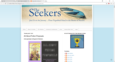 Seekerville| All About Proposals by Jill Kemerer