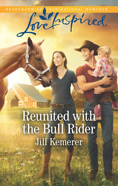 Reunited with the Bull Rider. Wyoming Cowboys Book 2 by Jill Kemerer. June 2018