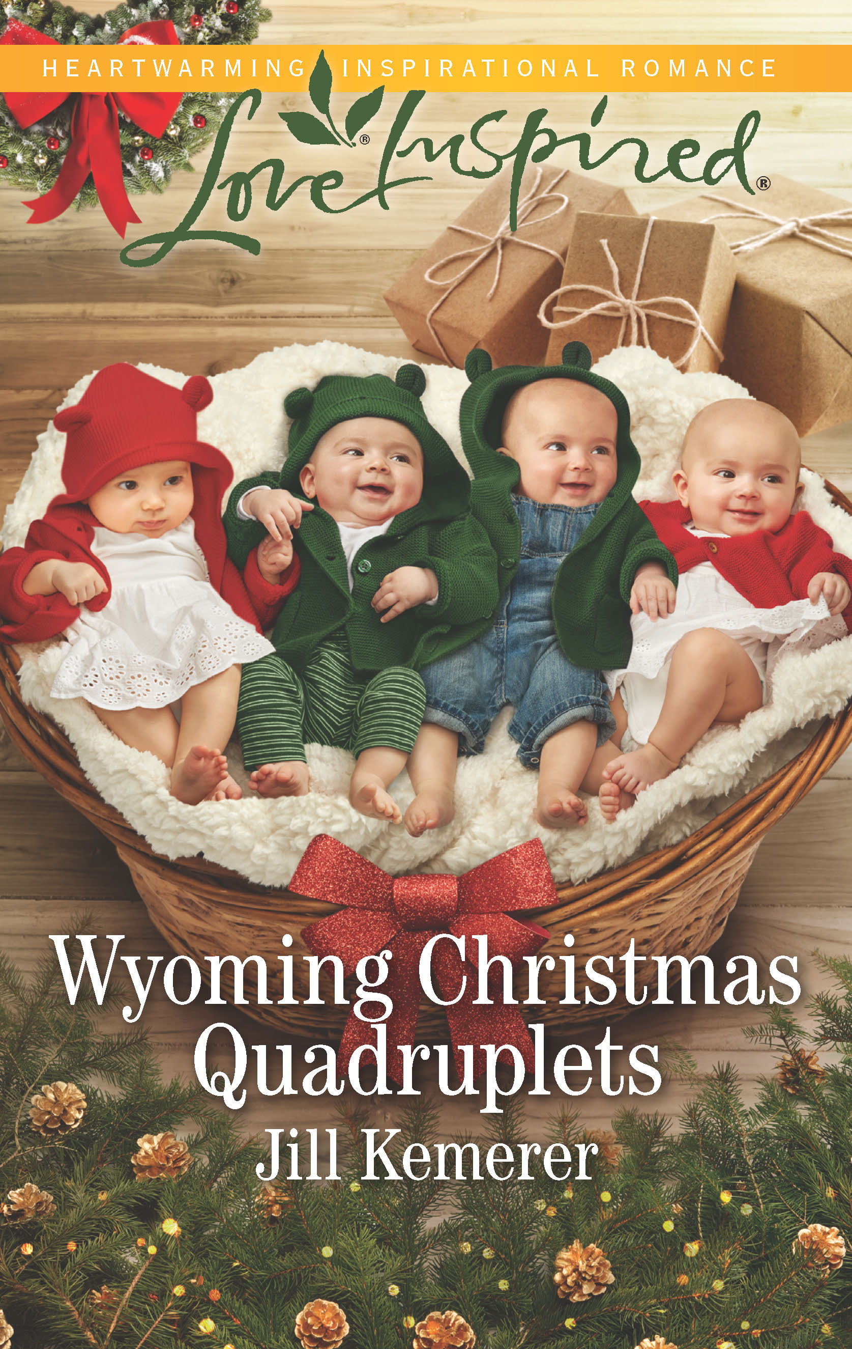 Wyoming Christmas Quadruplets By Jill Kemerer October 2018