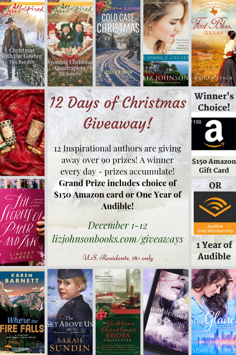 Day 2 of 12 Days of Christmas Giveaway Jill Kemerer