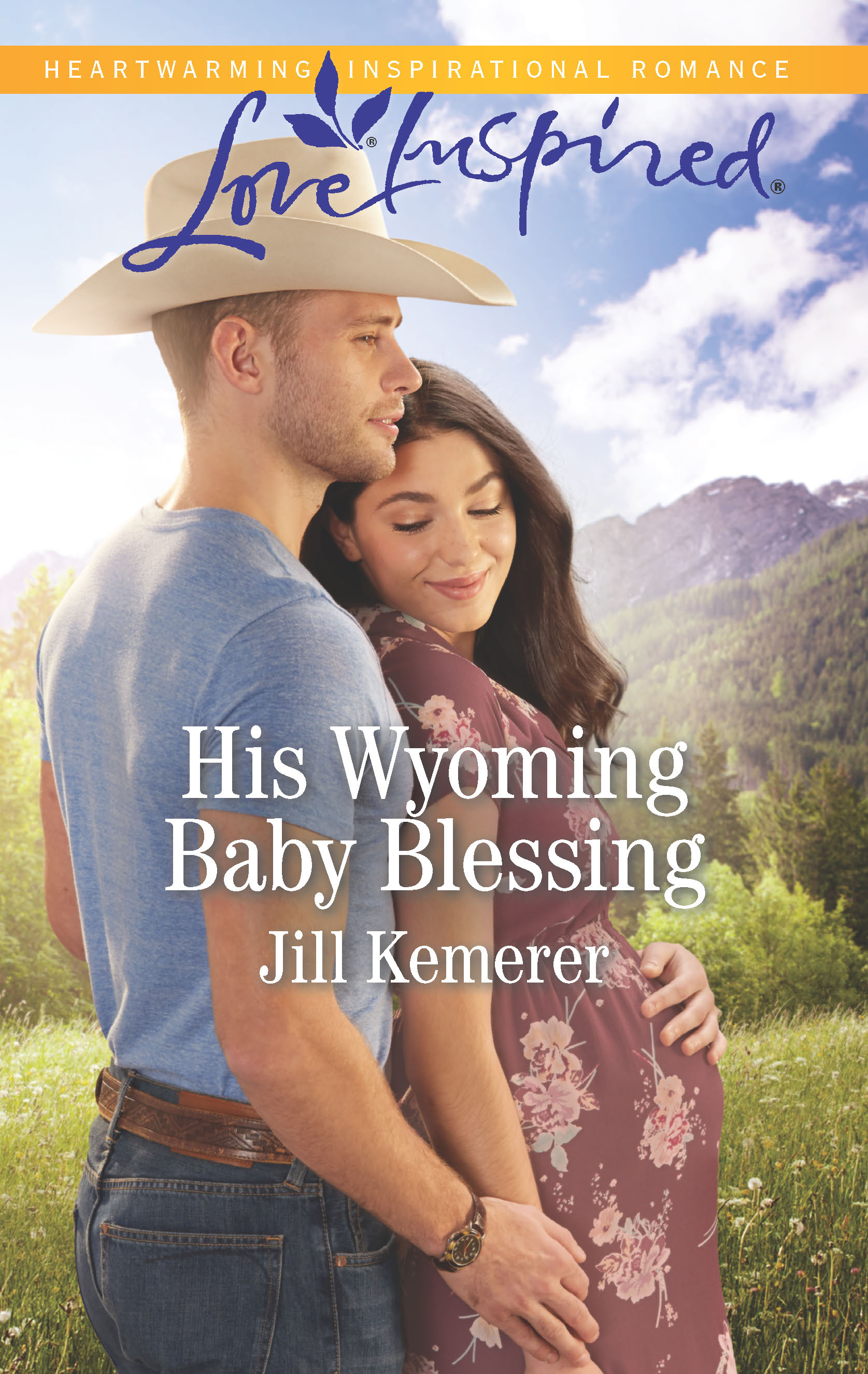 His Wyoming Baby Blessing, Wyoming Cowboys 4 by Jill Kemerer, May 2019