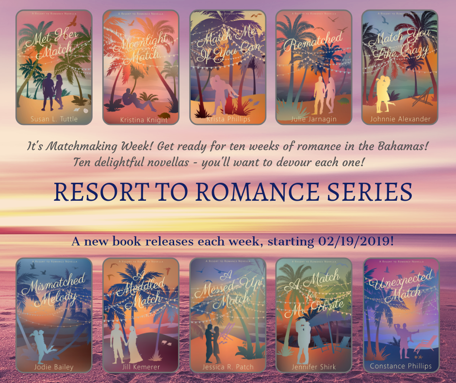Pre-order The Resort To Romance Series Now!