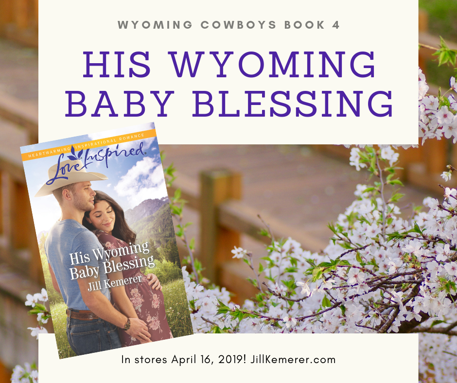 His Wyoming Baby Blessing Releases Today Jillkemerer.com/blog