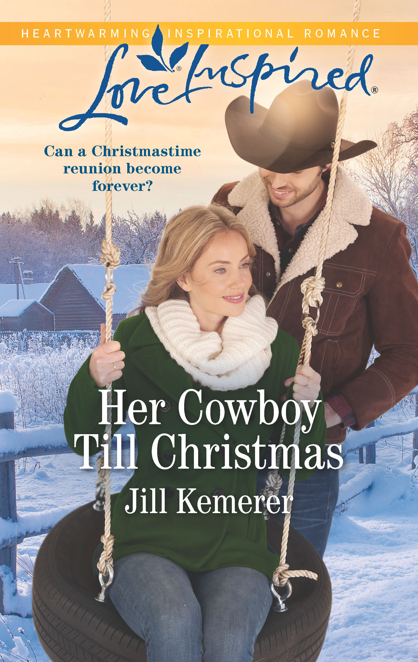Her Cowboy Till Christmas (Wyoming Sweethearts Book 1)