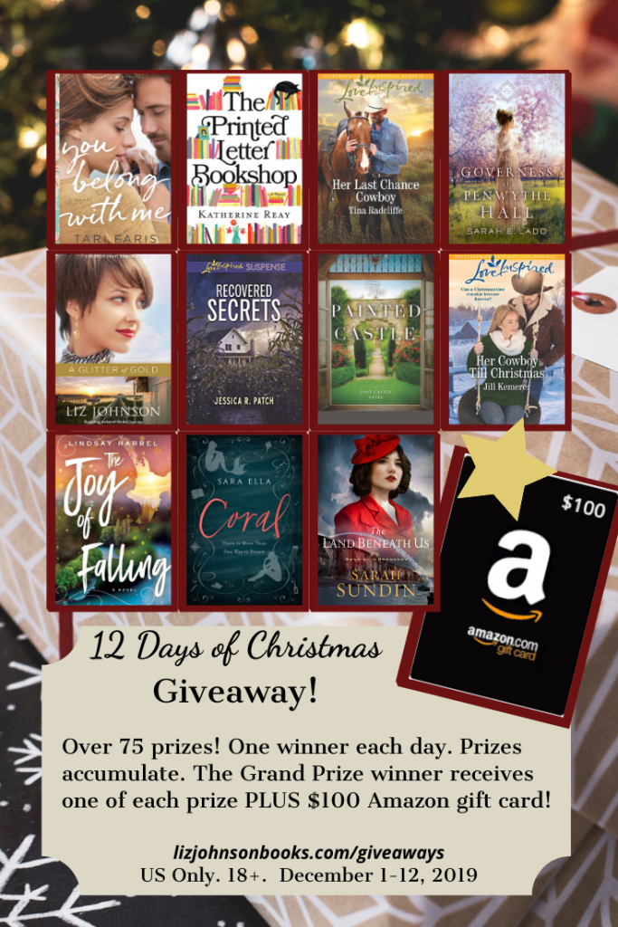 Day 8 of 12 Days of Christmas Giveaway! Jill Kemerer