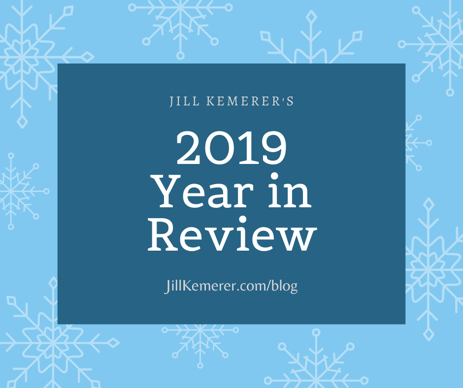 Jill Kemerer's Year In Review {2019}