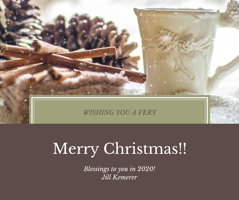 Merry Christmas! From Jill Kemerer