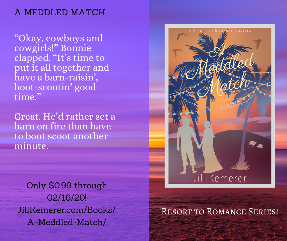 A Meddled Match 99 Cents Sale. Jill Kemerer