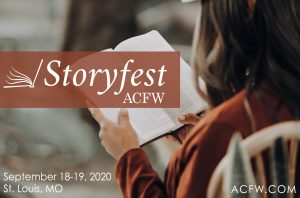 Storyfest 2020 ACFW. St. Louis, MO