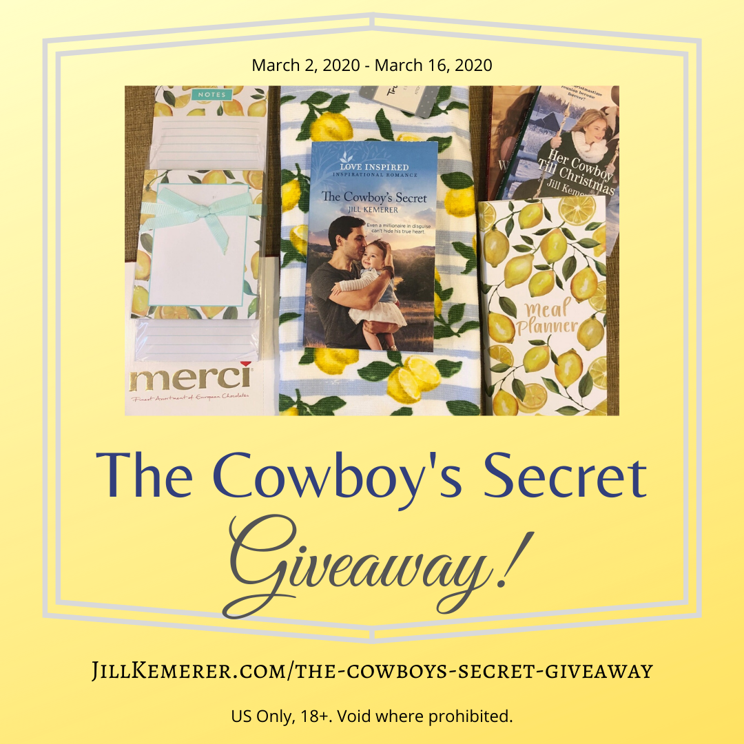 The Cowboy's Secret #Giveaway!