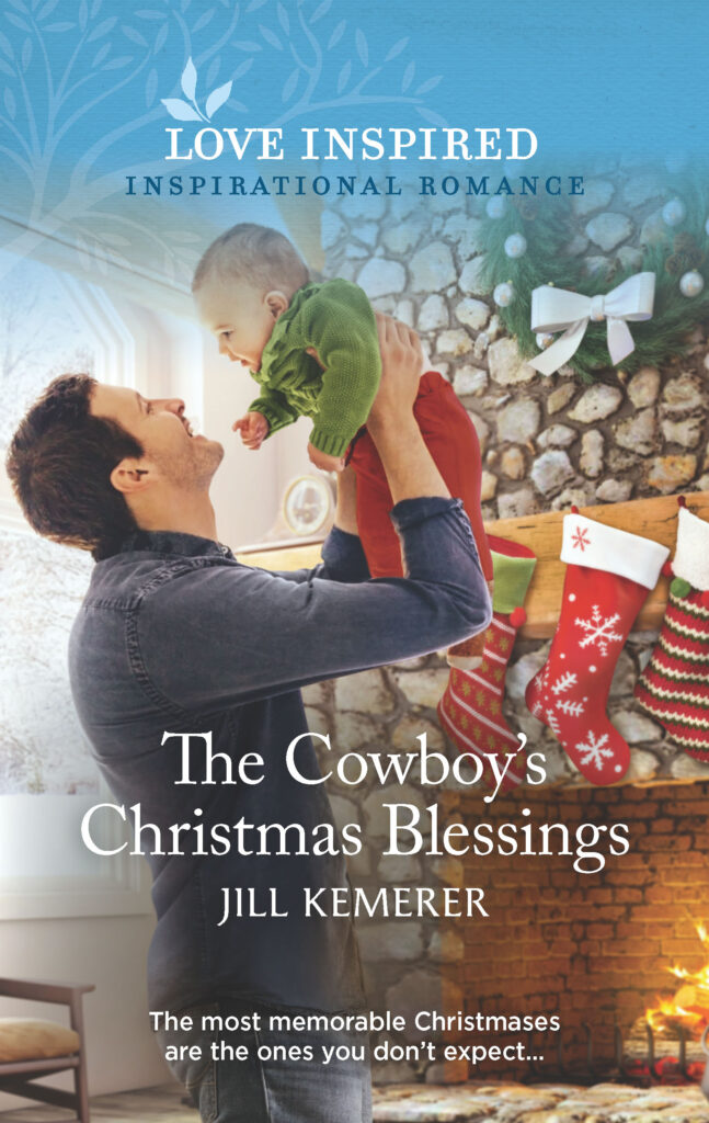 The Cowboy's Christmas Blessings. Book 3 in Wyoming Sweethearts by Jill Kemerer