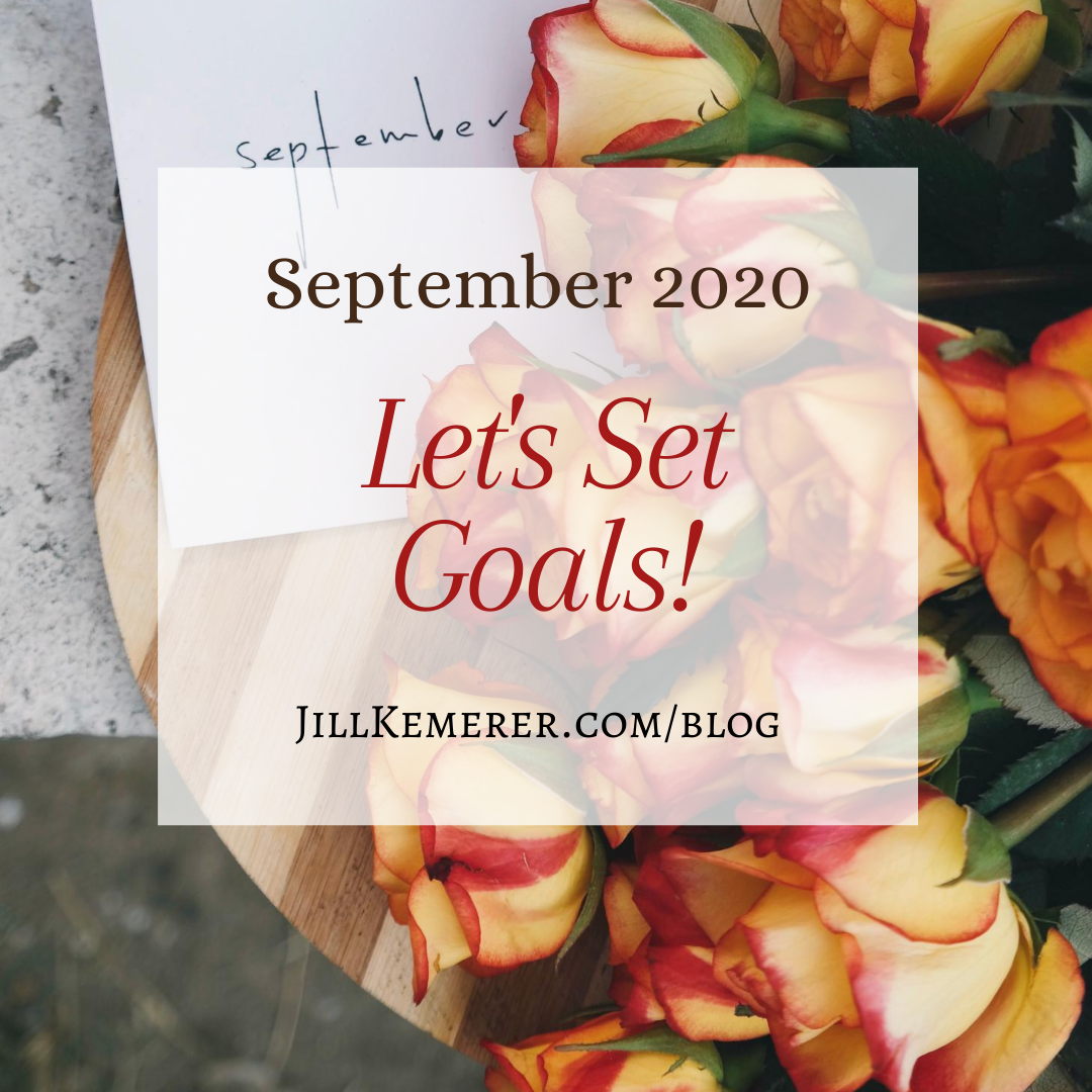 Let's Set Goals: September 2020
