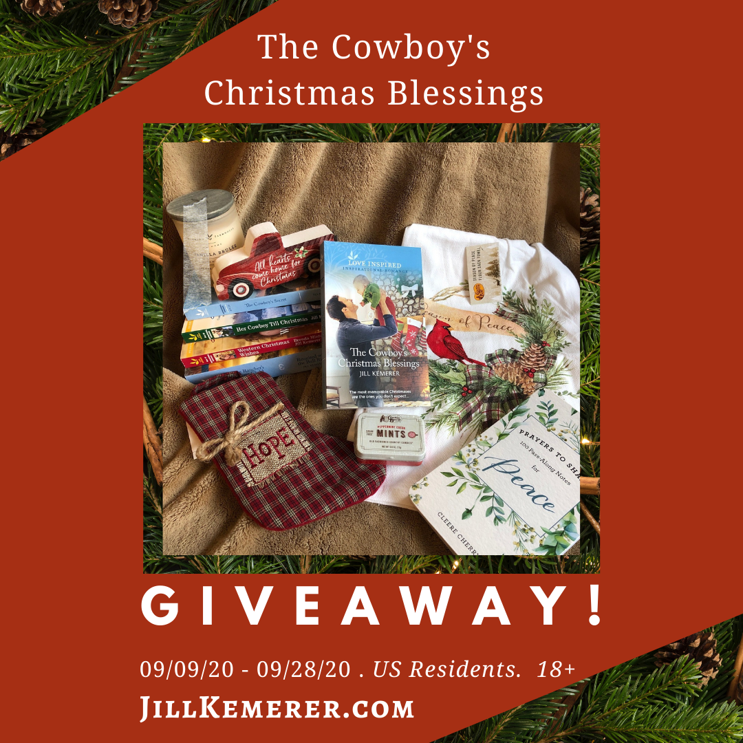 Giveaway: The Cowboy's Christmas Blessings!