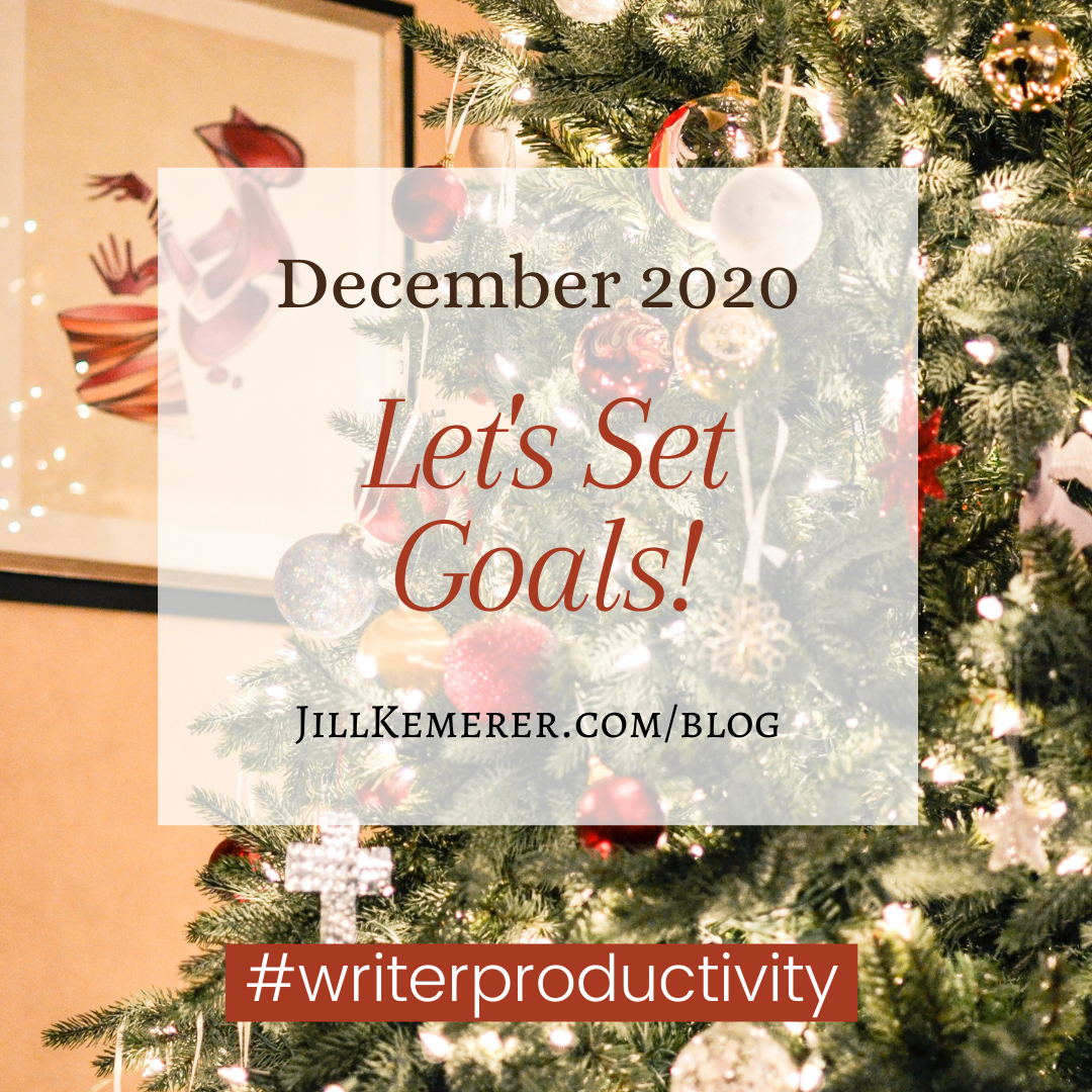 Let's Set Goals December 2020 Jill Kemerer
