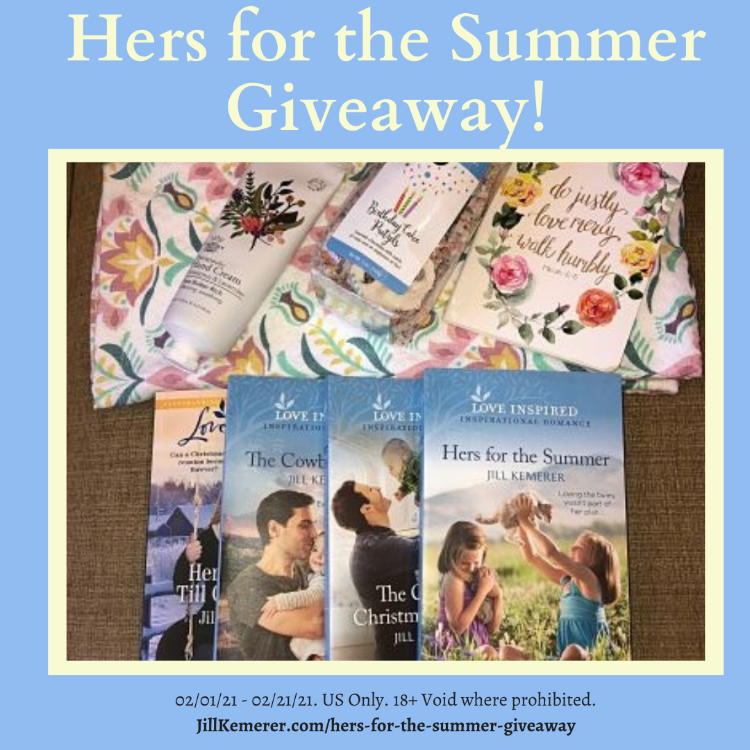 Book Giveaway Package For Hers For The Summer By Jill Kemerer