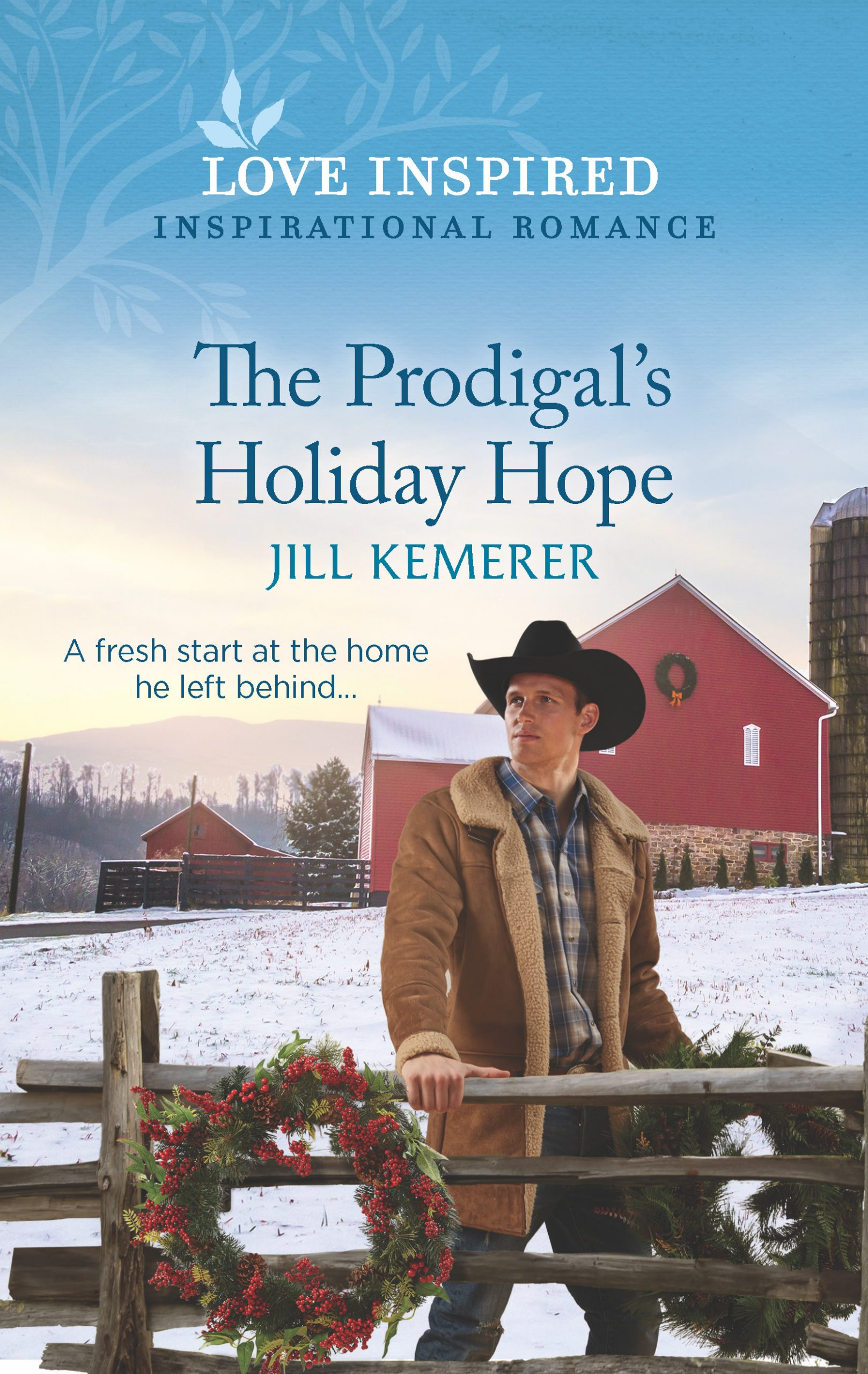 The Prodigal's Holiday Hope by Jill Kemerer, Wyoming Ranchers book 1, Love Inspired November 2021